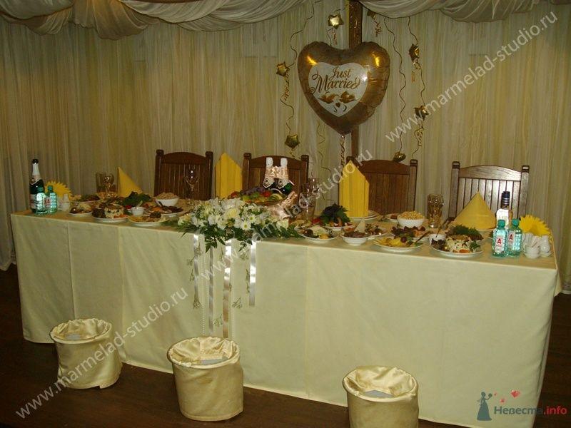 Фото 26282 в коллекции Оформление свадьбы воздушными шарами