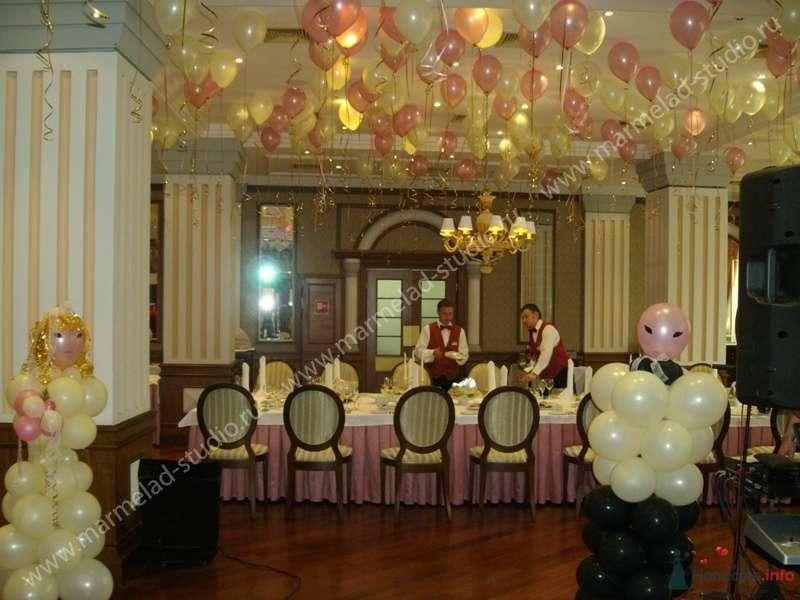 """Фото 26297 в коллекции Оформление свадьбы воздушными шарами - Студия праздника """"Мармелад"""""""