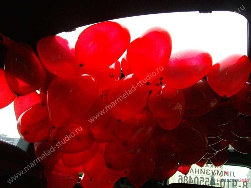 """Фото 26322 в коллекции Оформление свадьбы воздушными шарами - Студия праздника """"Мармелад"""""""