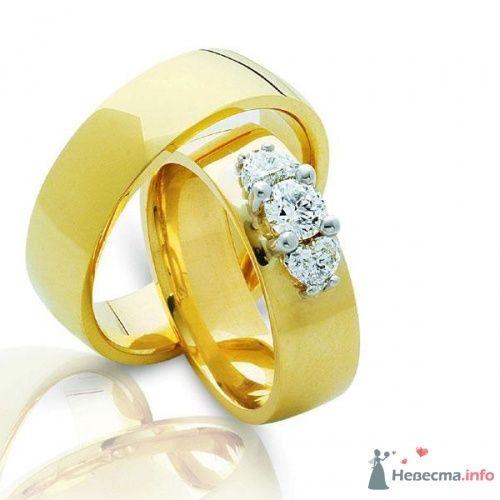 Обручальные кольца  Артикул 3290 - фото 12502 Ювелирный интернет-магазин Rings