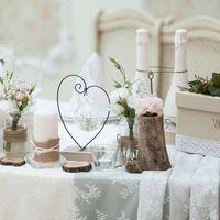 """Оформление свадьбы в ресторане """"Ясная поляна"""" стилистика"""