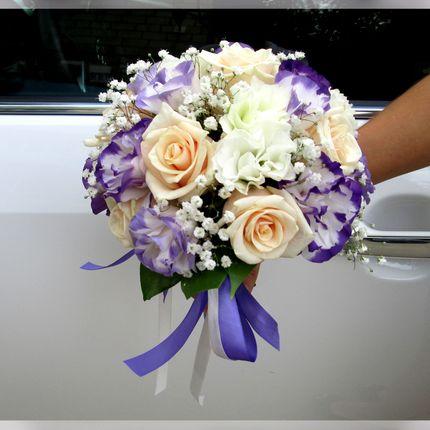 Букет невесты в стилистике свадьбы