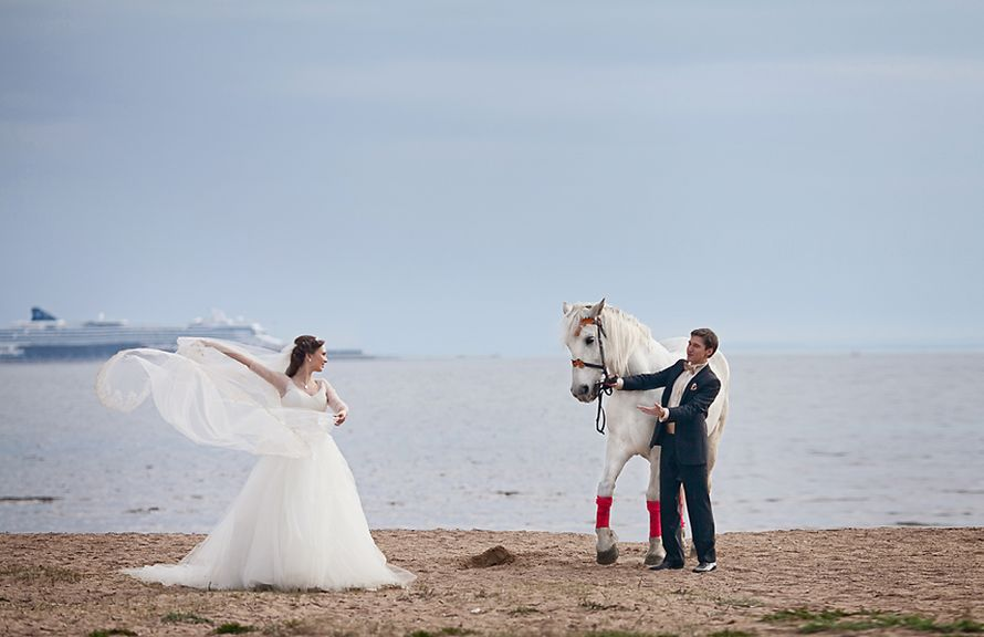 Айна и Андрей. Финский залив СПБ - фото 2375380 Фотограф Анна Лемеш