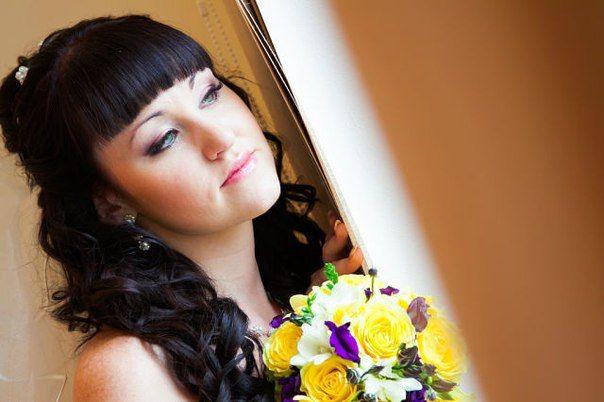 полный образ:наращивание ресниц,ногтей,макияж и прическа - фото 1500851 Визажист - стилист Ксюша Nika