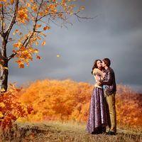 Осень. Холод. И теплые объятья любимого.