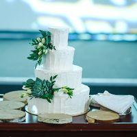 Торт для свадьбы в стиле Рустик