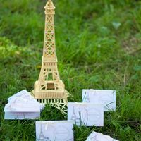 приглашение Эйфелева башня