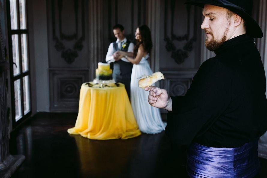 """желтая черная свадьба выездная регистрация - фото 6106679 Студия флористики и декора """"Глориоза"""""""