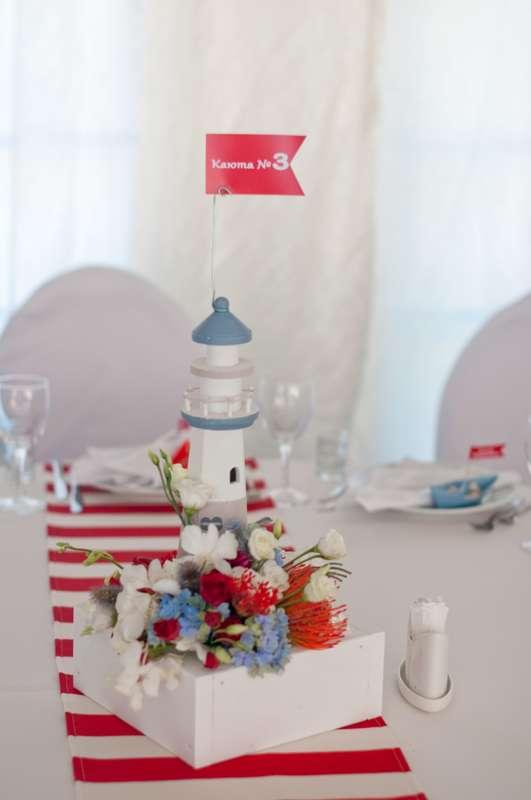 "морская свадьба маяк - фото 6618408 Студия флористики и декора ""Глориоза"""