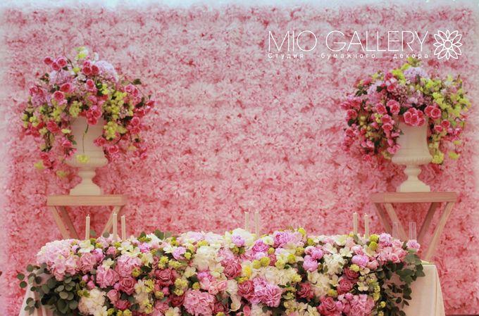 Фон из цветов на свадьбу своими руками 14