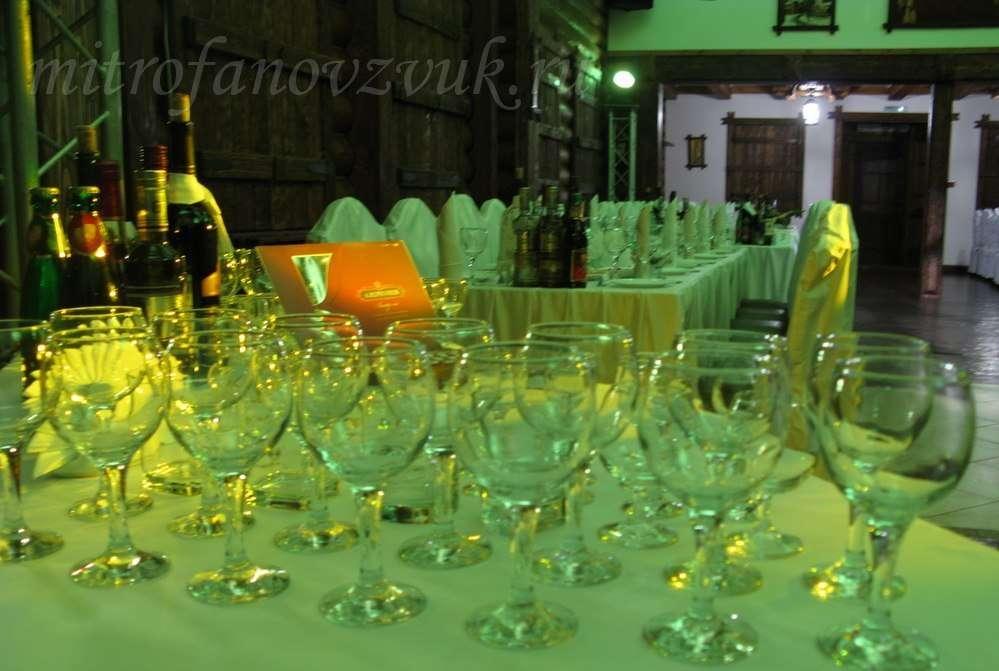"""Вариант цветовой """"заливки"""" зала. - фото 7727730 Аренда оборудования для свадьбы Гуд саунд"""