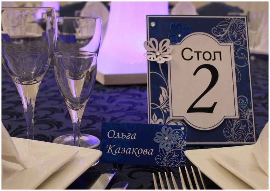 """Рассадные карточки и номера на стол. - фото 1679881 """"Несен Студио"""" - свадьба продуманная до мелочей"""