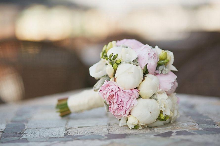 Фото 12273892 в коллекции Свадебный букет невесты - Мистер Пион by IRINA Burtceva Flowers&Decor