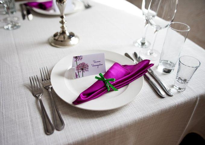 Салфетки: идеи для украшения свадебного стола! : 2 сообщений : Блоги невест на Невеста.info