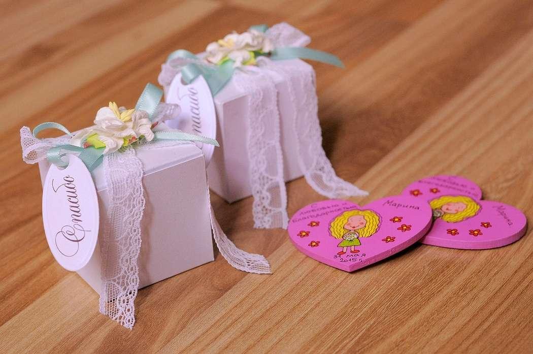 Бонбоньерки - коробочки с презентами для гостей. Изготовление в различной гамме - фото 11162914 Свадебные аксессуары Насти Демьян