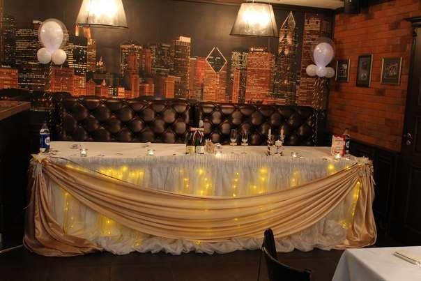 "Оформление зала Sweet Dreams - фото 1564981 Ресторан ""Чикаго"""