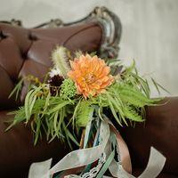букет невесты, стиль бохо