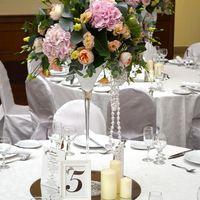 Свадьба в Персиково-розовой гамме