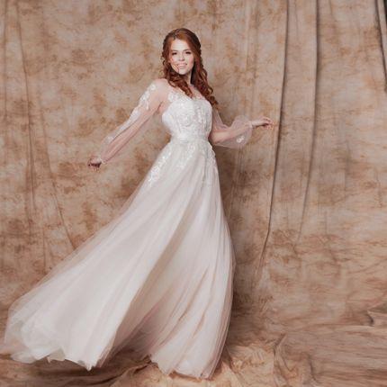 """Свадебное платье """"Снежик"""""""
