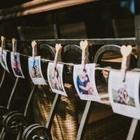 Фото-выставка на веревке
