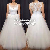 Пышное свадебное платье в стиле #rosaclara сшито по индивидуальному заказу для невсты Натальи