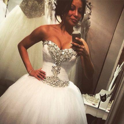 """Свадебное платье """"Нежное"""", арт.1024"""