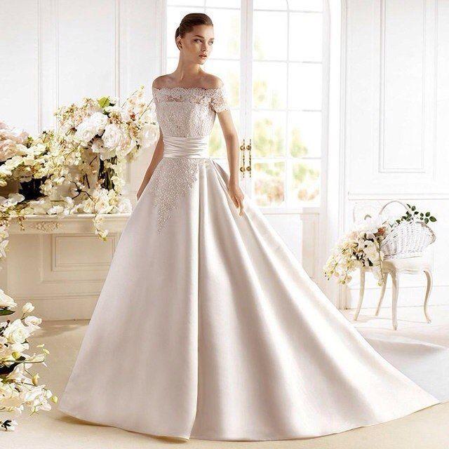 Свадебное платье А466
