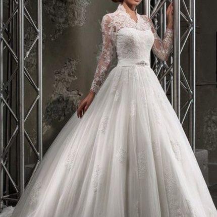 Свадебное платье А474