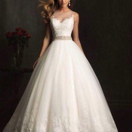 Изумительное свадебное платье А673
