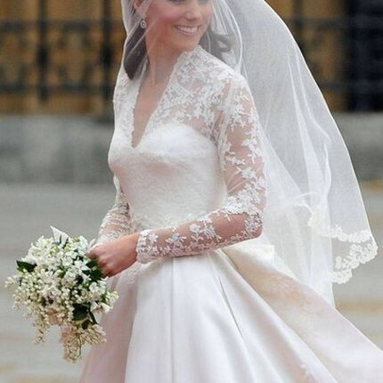 Свадебная фата А688