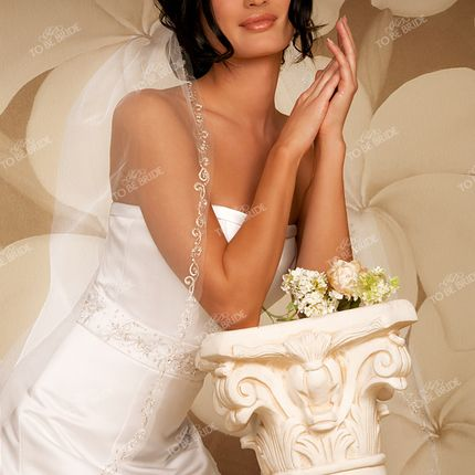 Свадебная фата To be bride А697