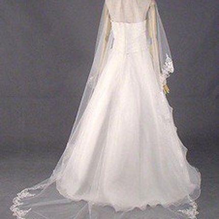 Свадебная фата А716