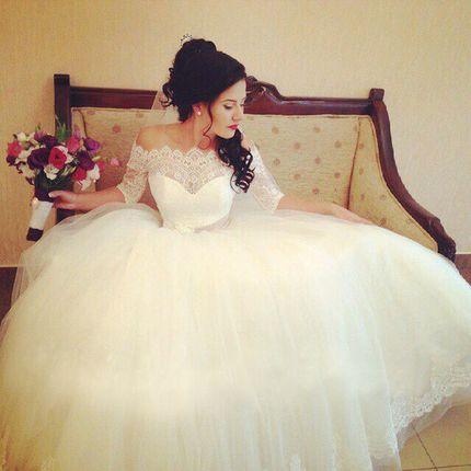Прокат свадебного платья, модель А770
