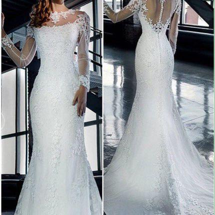 Свадебное платье А836 - прокат