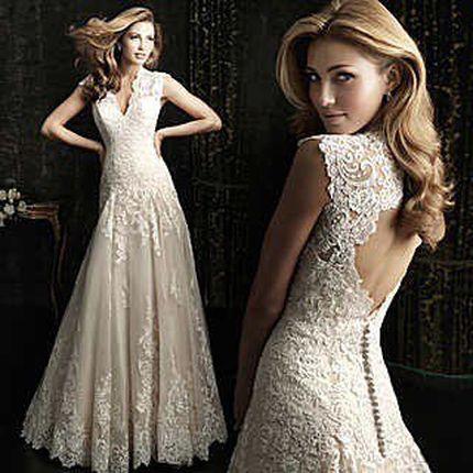 Свадебное платье А842 - прокат