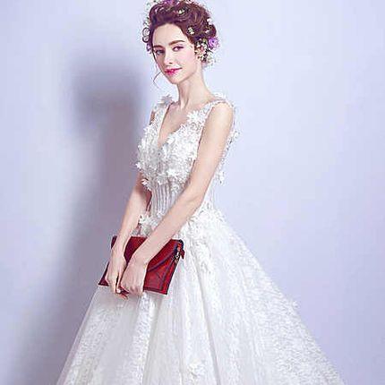 Свадебное платье - модель А853 в аренду