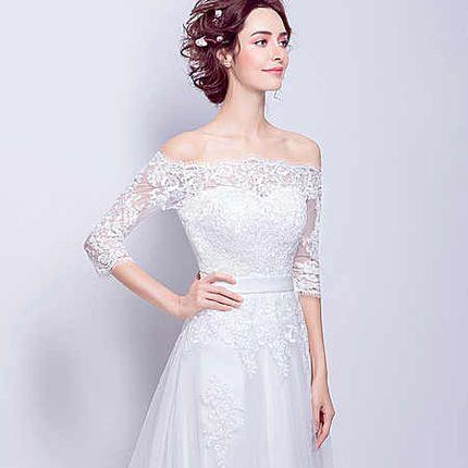 Свадебное платье - модель А855 в аренду