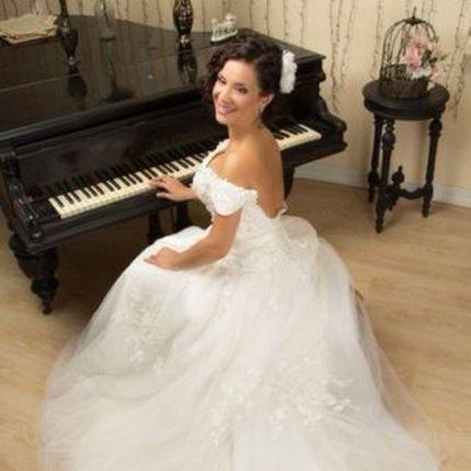 Свадебное платье - модель А883