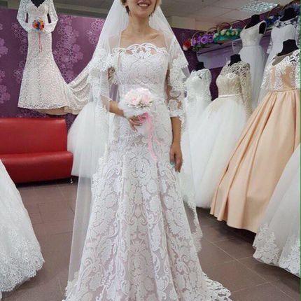 Свадебное платье в аренду, арт. А1011