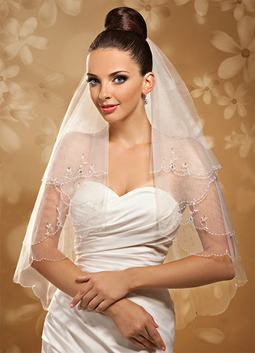 Свадебная фата, арт.1036