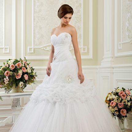 Свадебное платье А-силуэта, арт. А1120