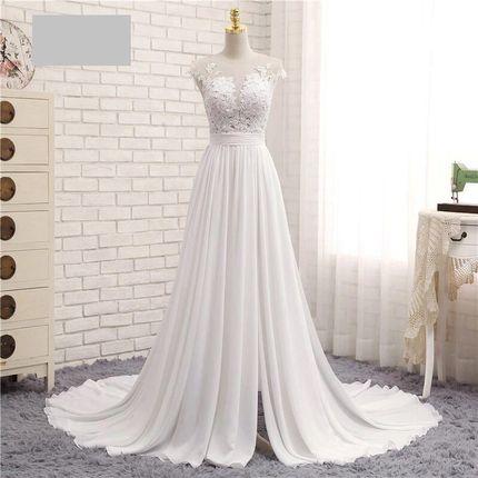 Свадебное платье длинное А1236