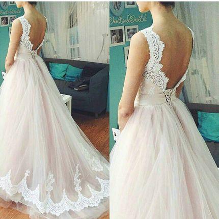 Свадебное платье пышное А1240