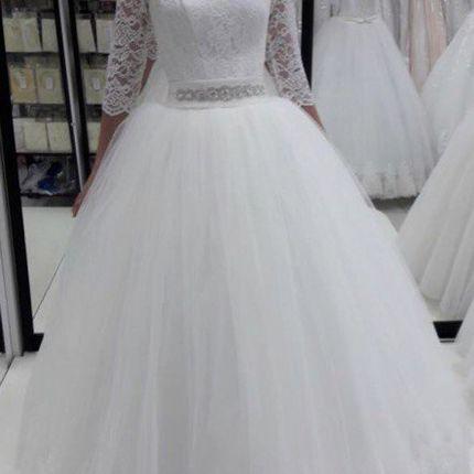 Свадебное платье пышное А1253