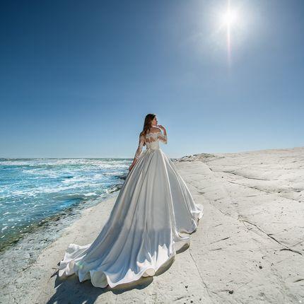 Платье пышное А1259 прокат