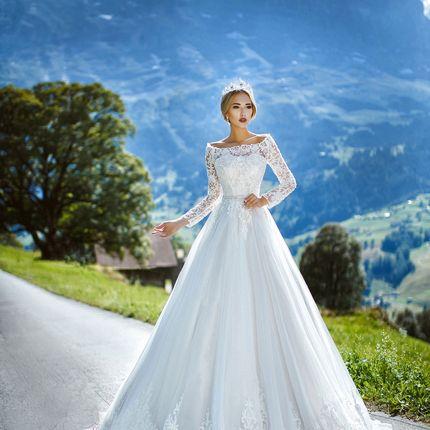 Свадебное платье пышное А1266