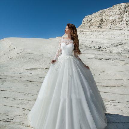 Свадебное платье-трансформер А1275