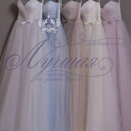 Платье пышное А1299 прокат