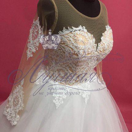 Платье пышное А1303