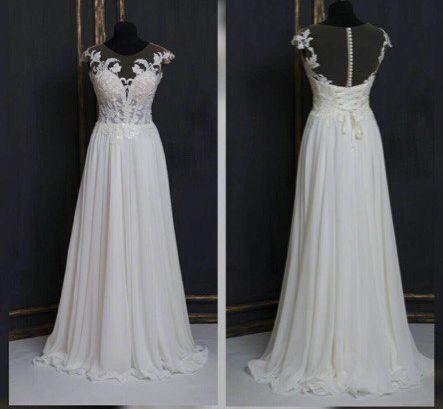 Свадебное платье со шлейфом А1318